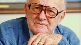 Elderly Man Wearing Eyeglasses