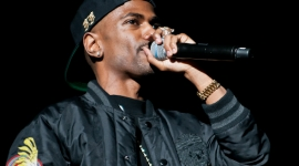 Big Sean performs in Detroit