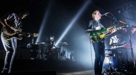 Two Door Cinema Club Performs in Michigan