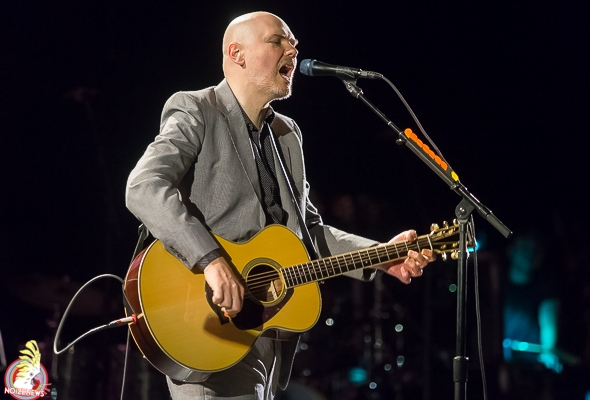 BILLY CORGAN of the Smashing Pumpkins performs at The Fillmore Detroit.