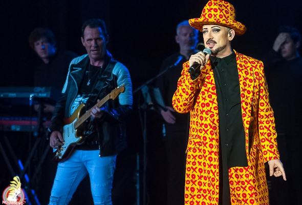 BOY GEORGE and the Culture Club performs at Meadow Brook Music Festival in Rochester Hills, MI.